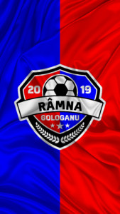 Râmna Gologanu Flag Logo Vertical